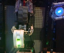 LEGO GLaDOS EV3 Using Simple Machines