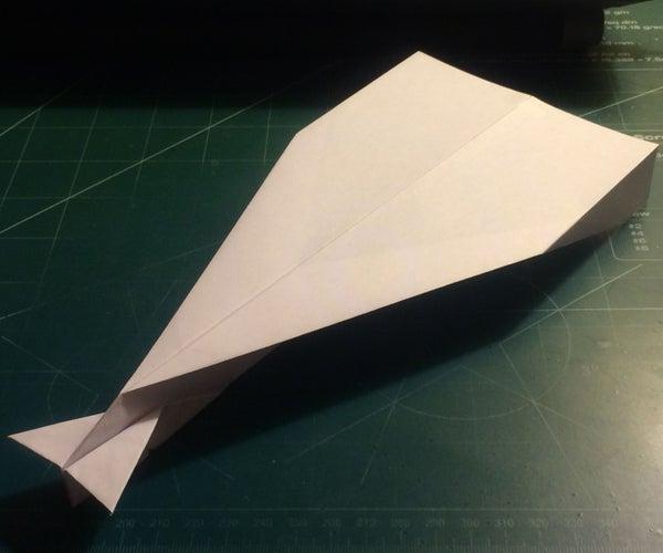 How to Make the AeroDagger Paper Airplane