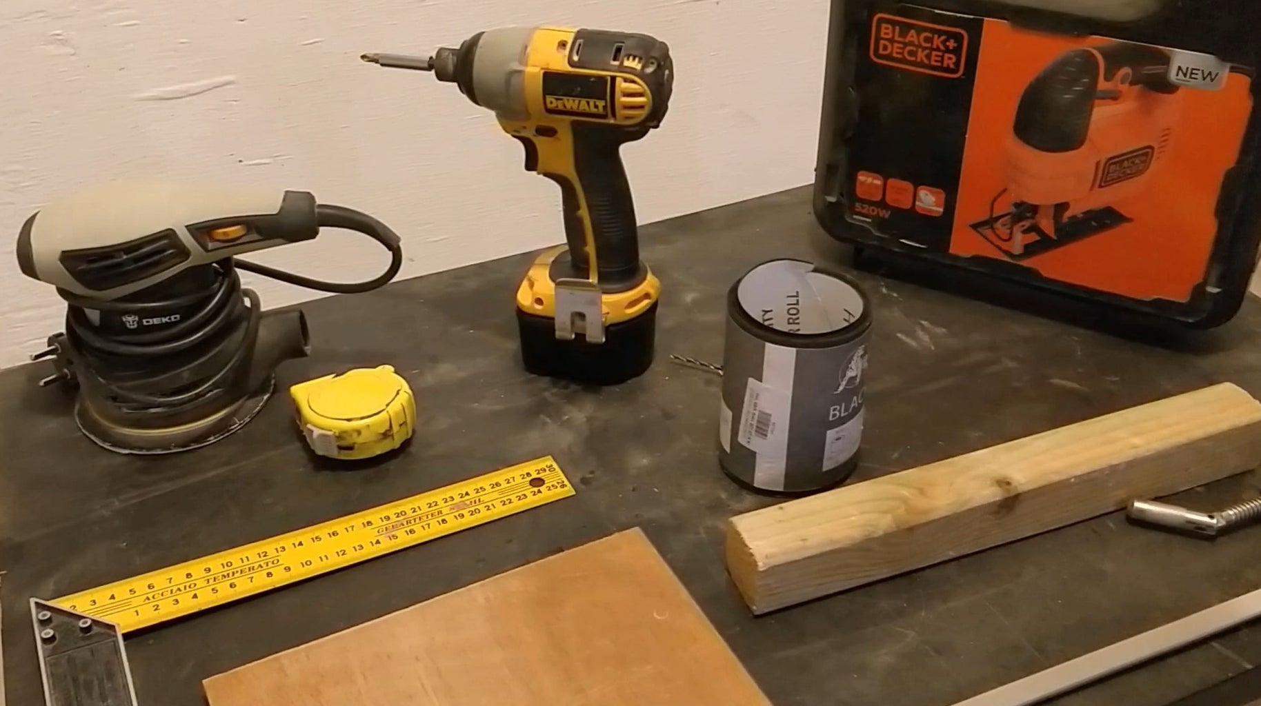Starting the 'Surprise' Woodworking Workshop