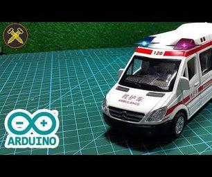 如何用Arduino使救护车/警车发光