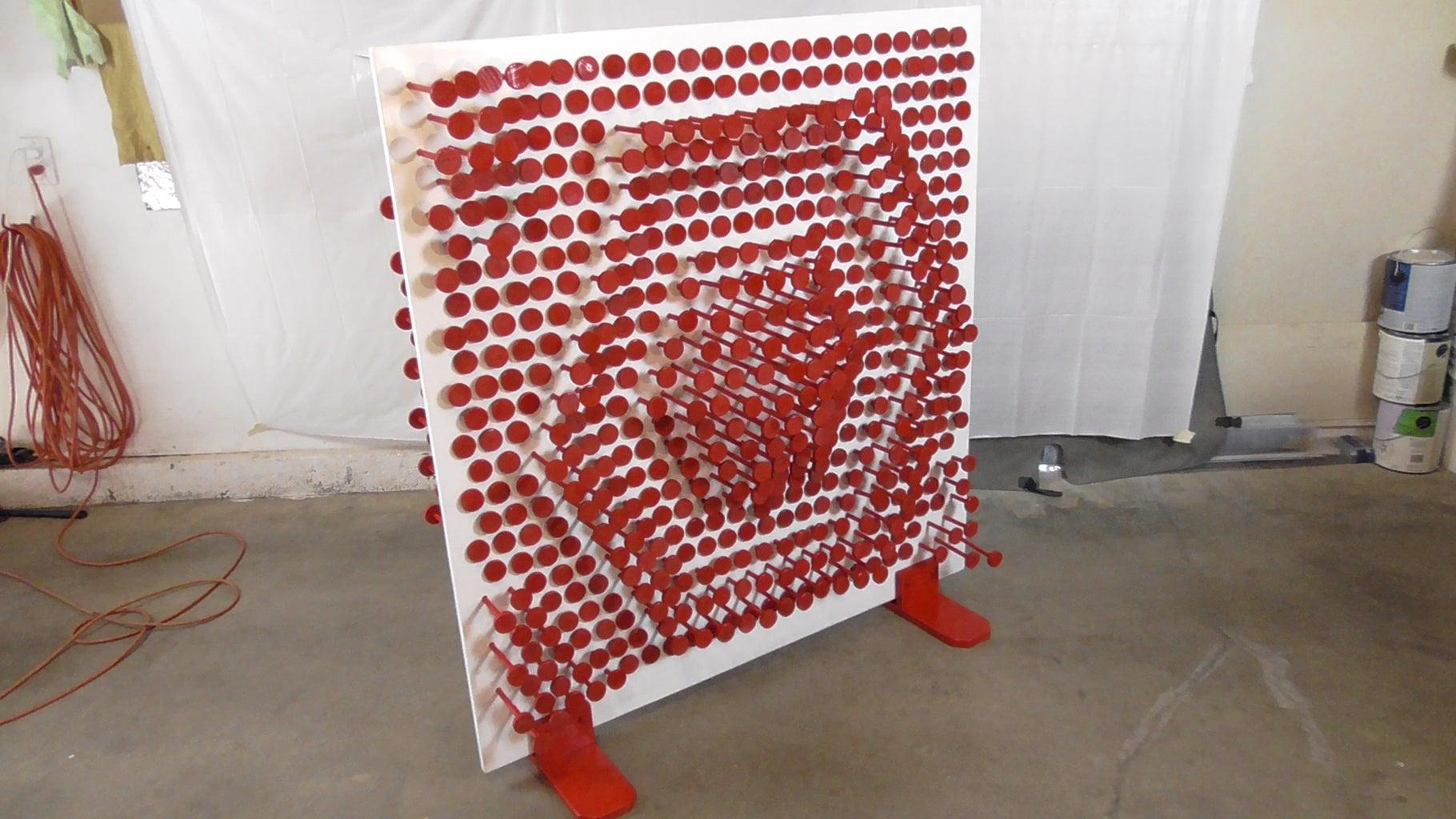 Giant Pin Art/pin Press