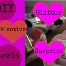 DIY Valentine's Button Bowl