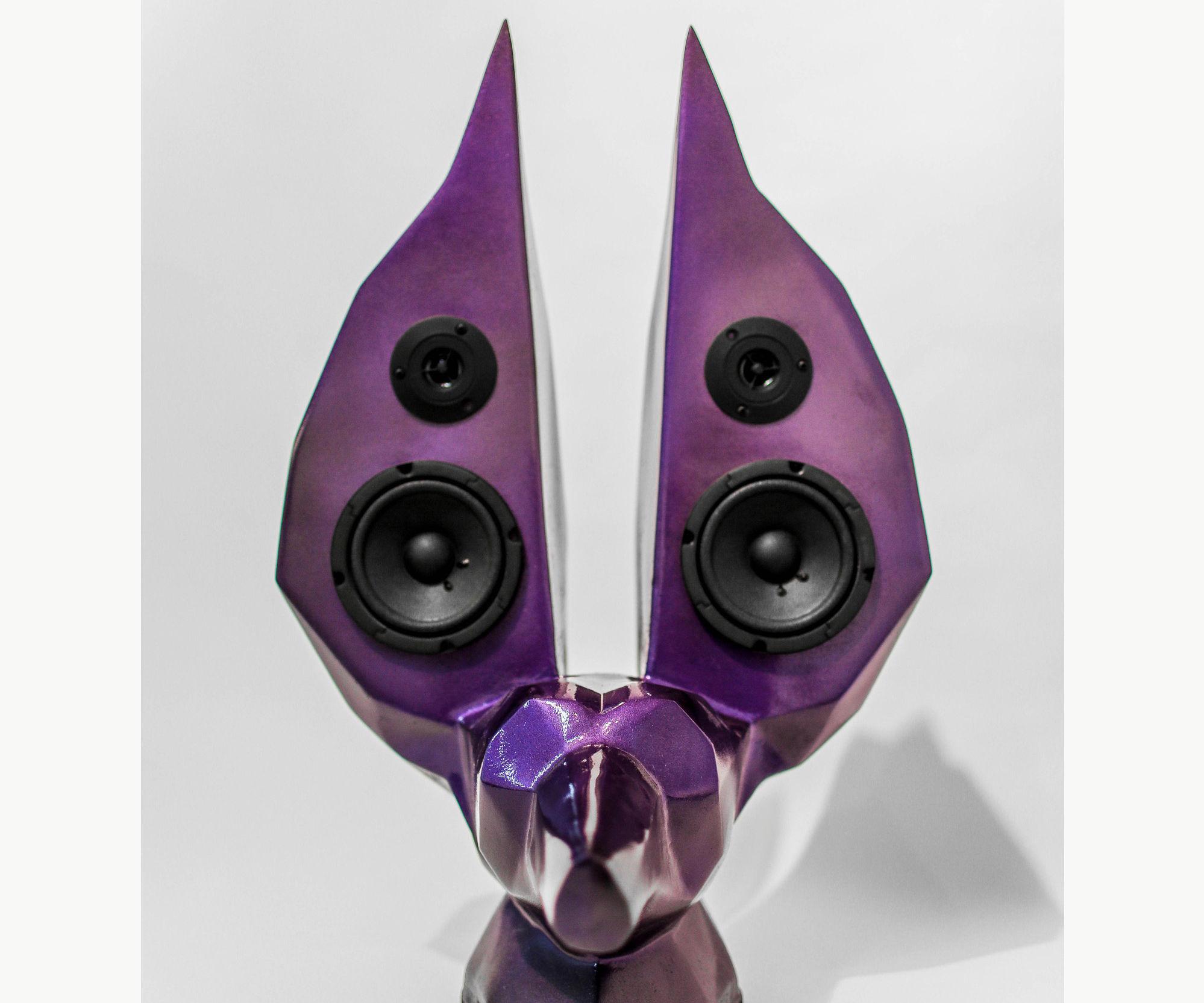 Handmade Anubis Art Speaker