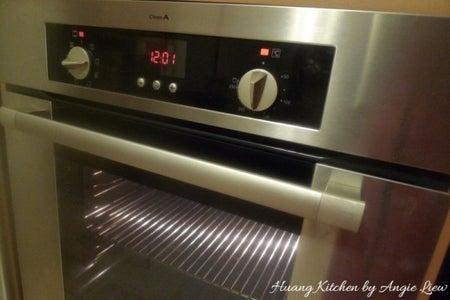Preheat Oven to 165 Degree C (325 Degree F).