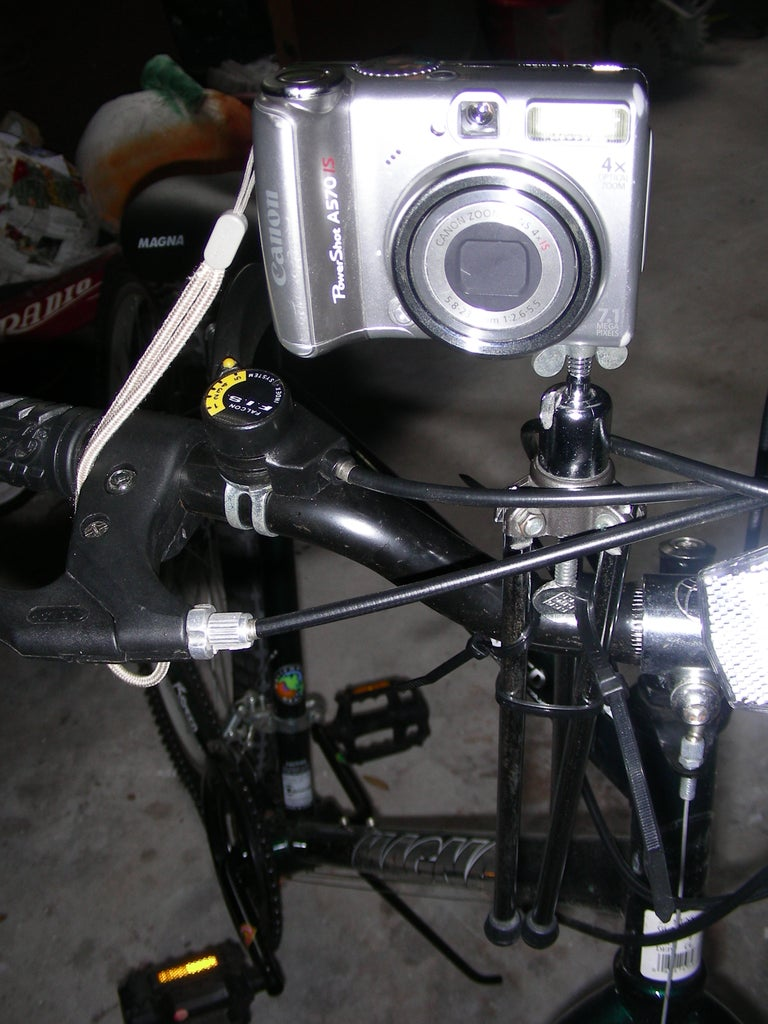 The Hands Free Bicycle Camera Tripod