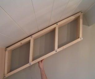 Adjustable Bookshelf for Angled Walls