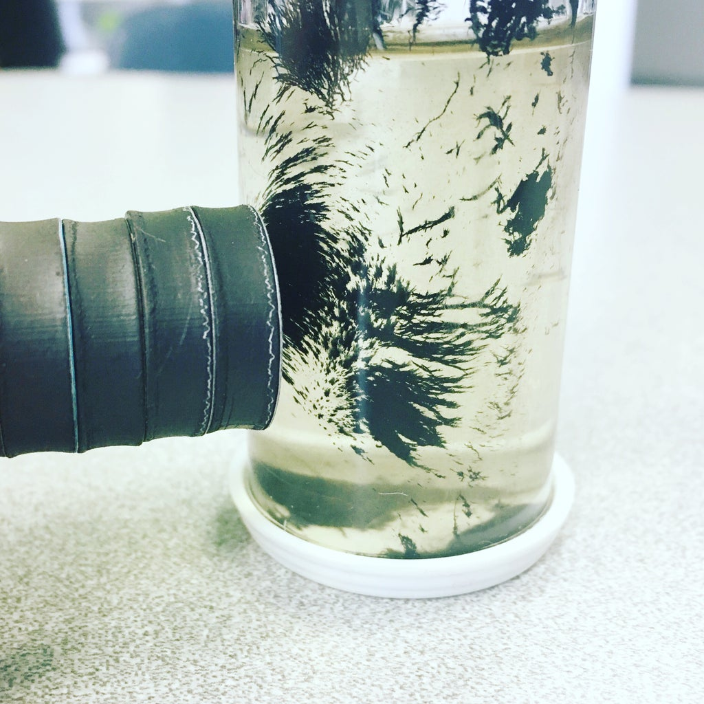 Homemade Ferrofluid