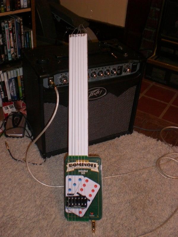 6 String Tin Box Guitar