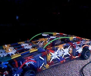 Knex 2011 Ford Mustang Shelby GT500