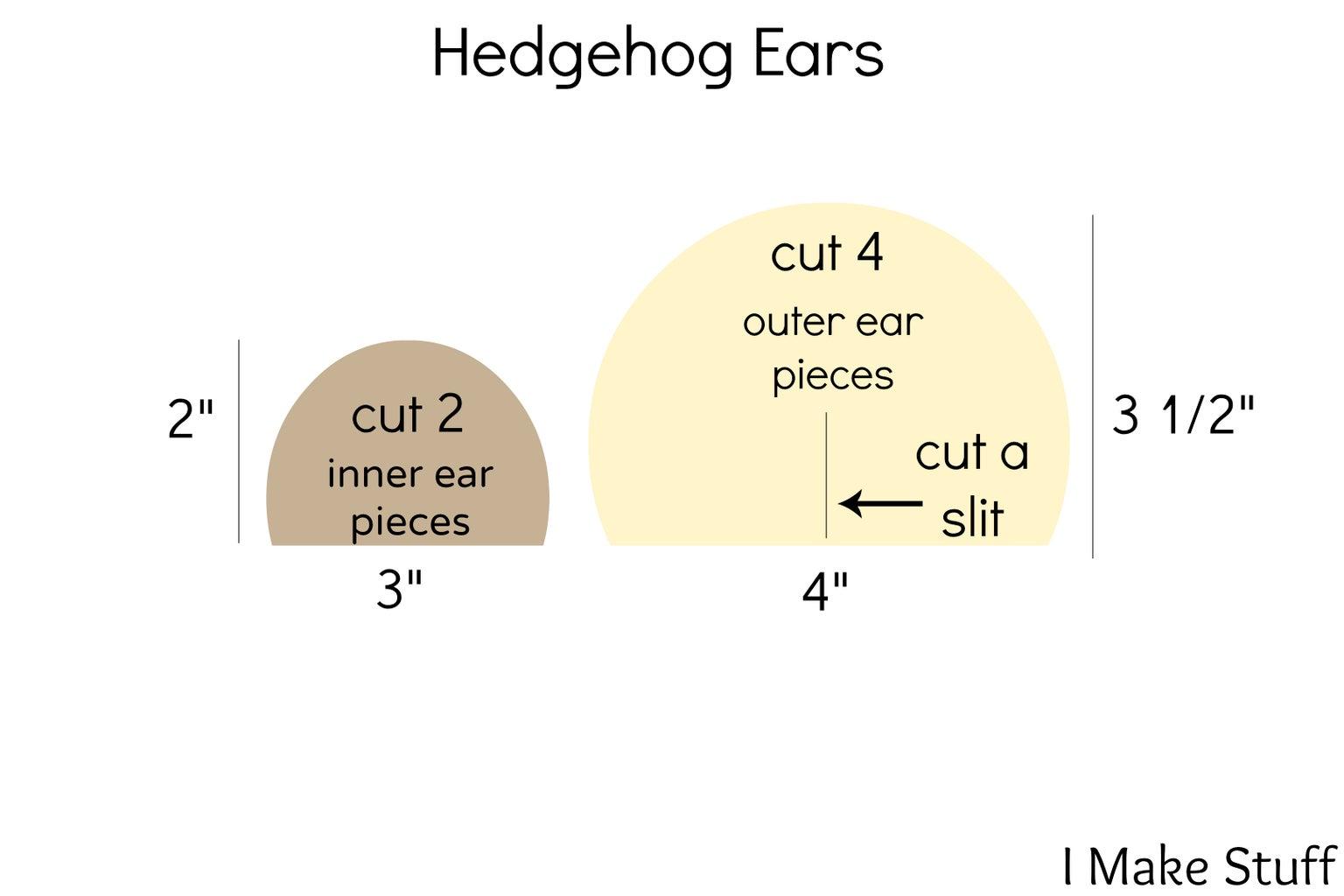 Cut Ear Pieces