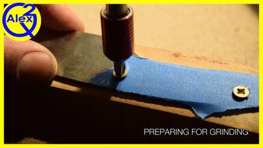 Preparing for the Bevel Grind