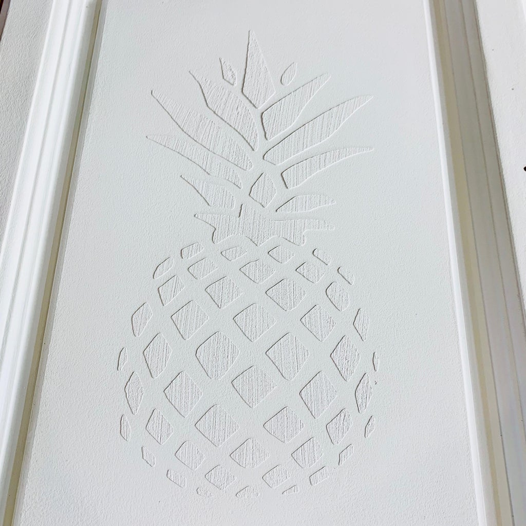 How to Paint a Raised Stencil on Furniture