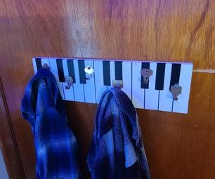 Keyboard Coat Hangar