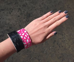 Heat Forming and Making 3D Printed Wristband
