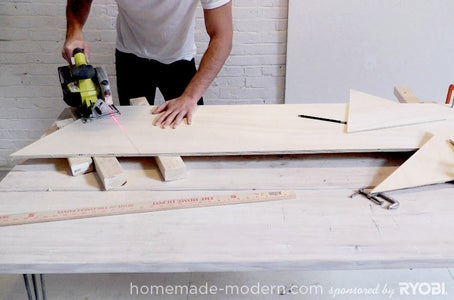 Cut the Plywood