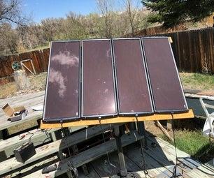 TV Satellite Dish Solar Panel