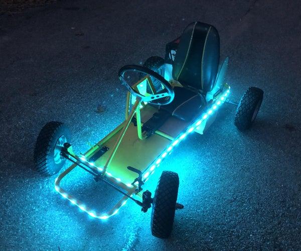 The Bolt! - an Electric Go Kart Homeschool STEM Project