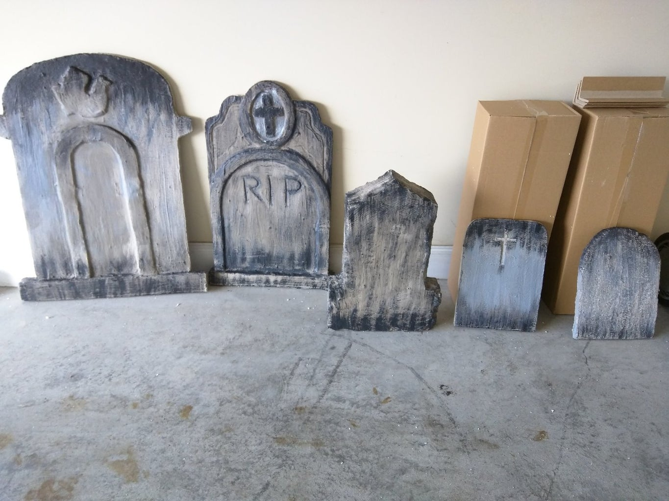 Finishing the Tombstones