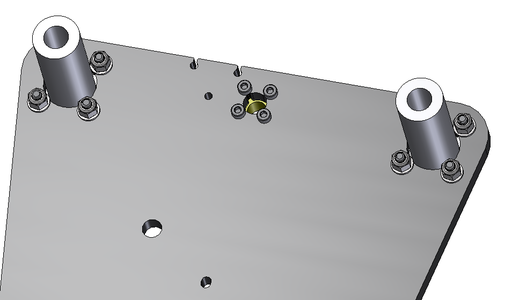 Remove the Leadscrew Nut From the Replicator 2 Z-axis Stage and Install Lead Screw Nut Into Aluminum Plate