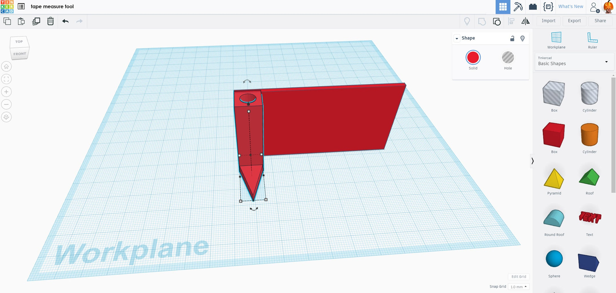 Align Pencil Pointer to Long Box