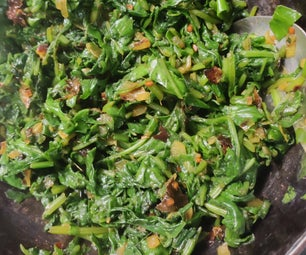 Easy Peasy Spinach