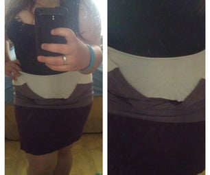 From Shirt to Skirt in 2 Minutes!