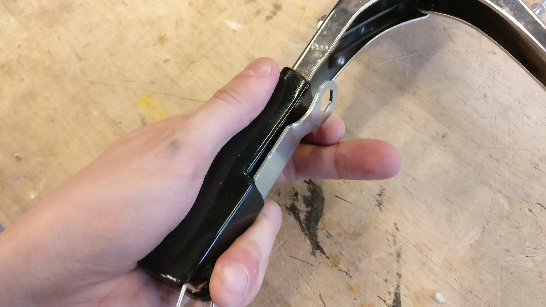 Preparing the Rivet Gun #2