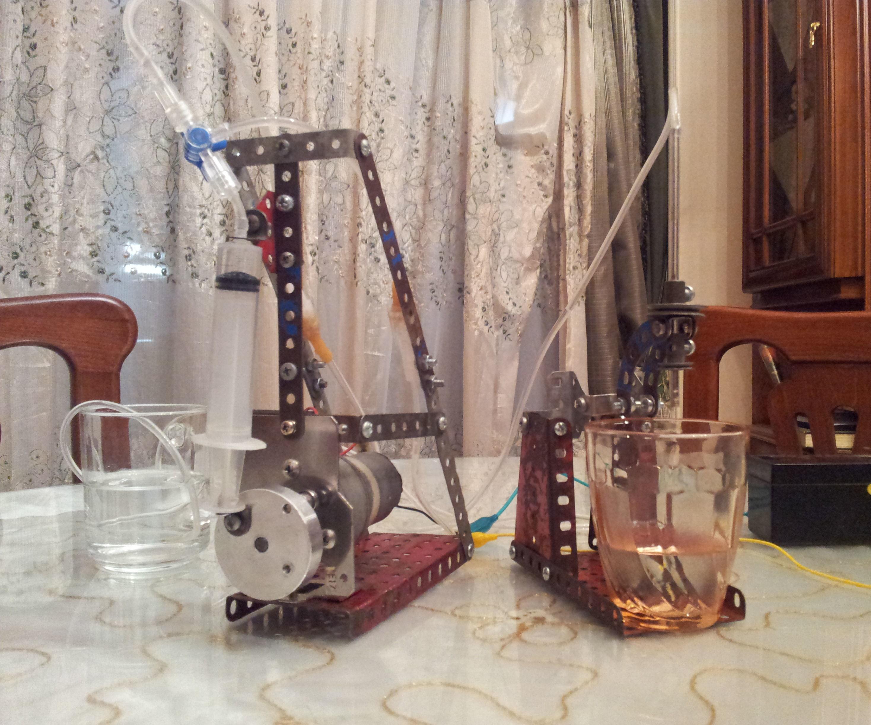 Syringe Piston Pump