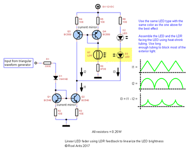 Schematic2 - Closed Loop LED Fader Circuit