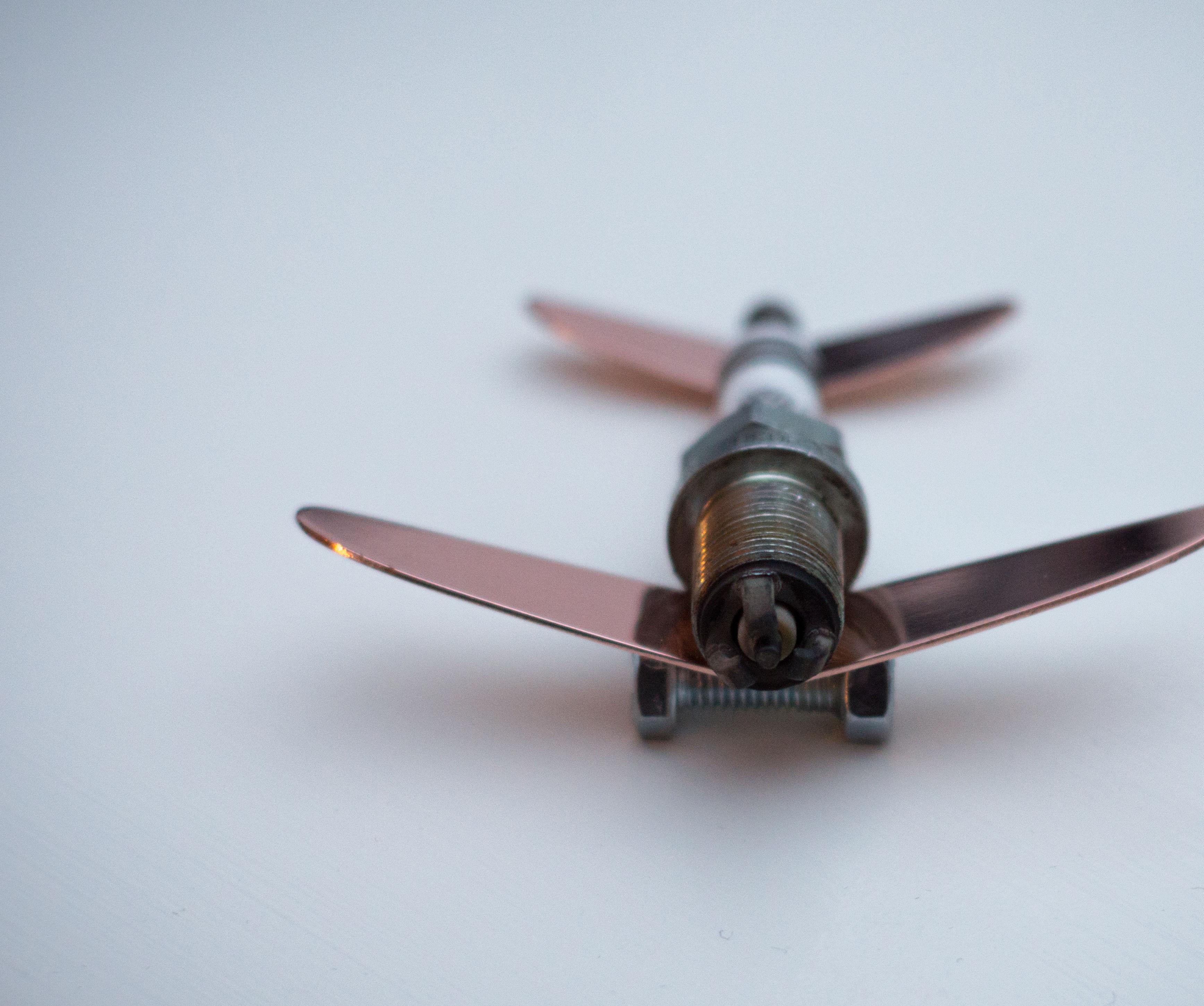 Spark Plug Aeroplane