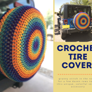 Crocheted Spare Tire Cover