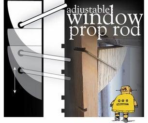 Adjustable Window Prop Rod