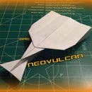 How to Make the NeoVulcan Paper Airplane