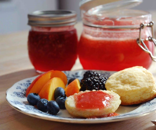 Strawberry (or Any Fruit) Honey