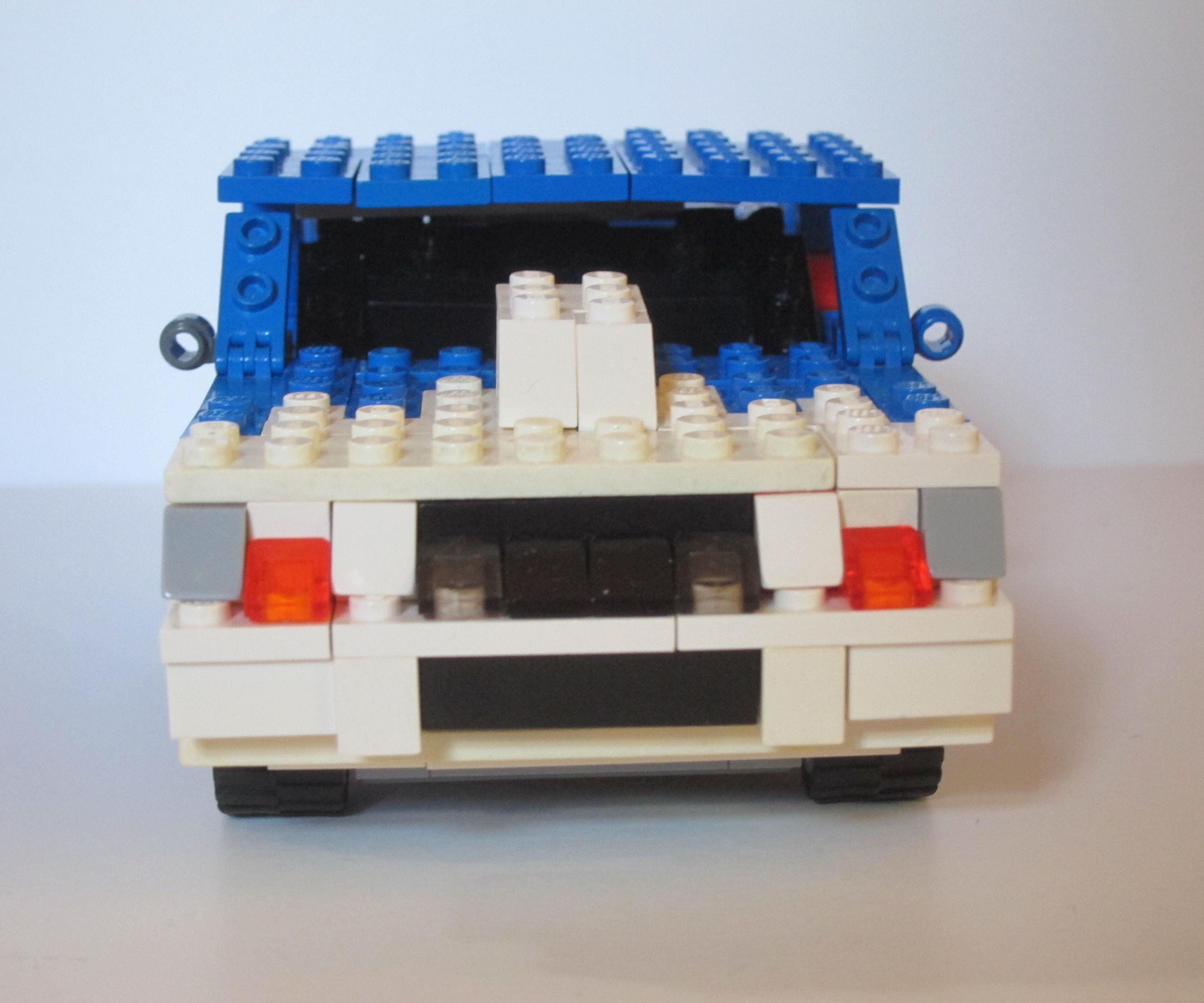 Lego Motorized Second Gen Chevrolet Camaro