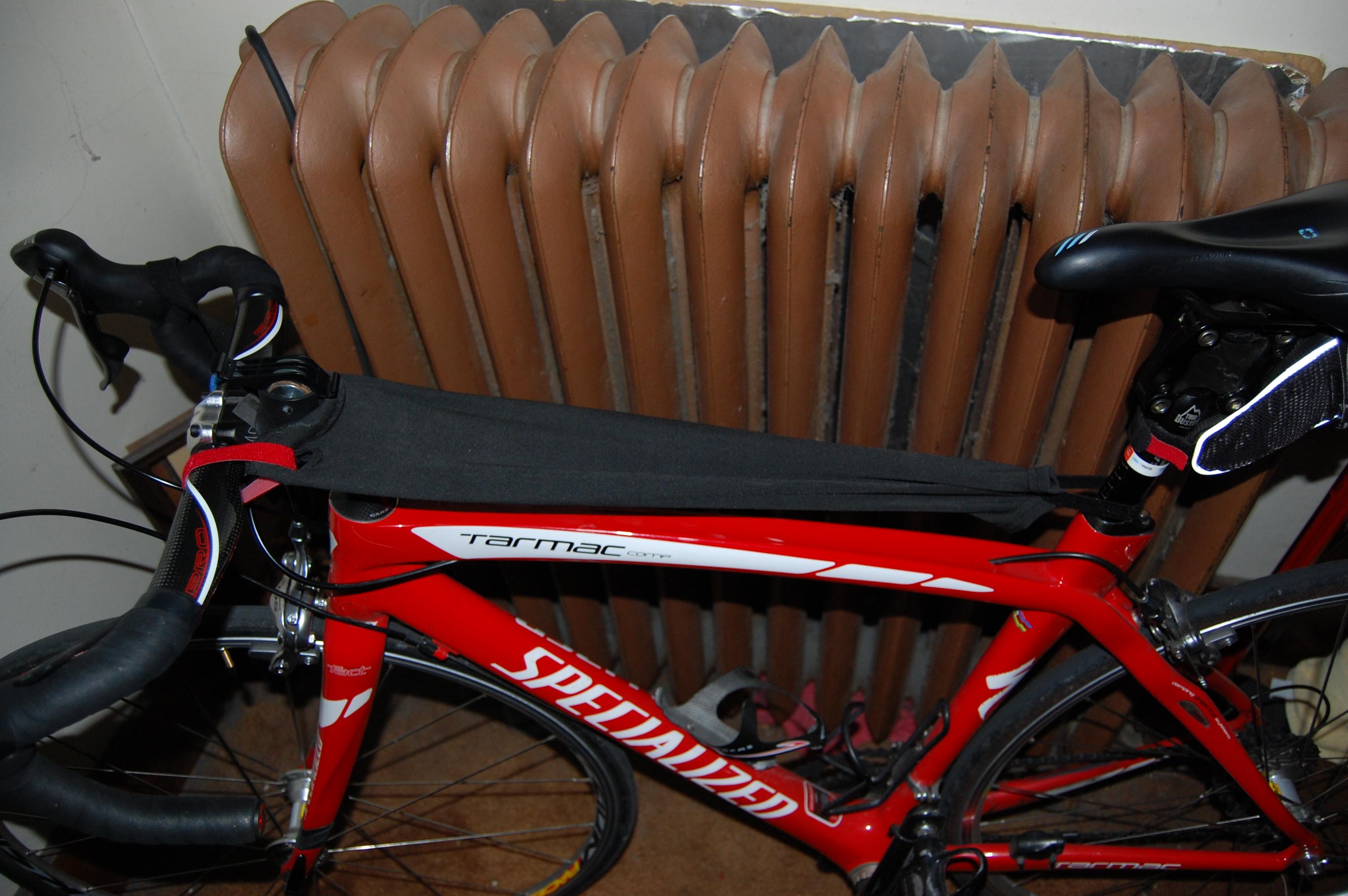 Make your own Bike Sweat Guard