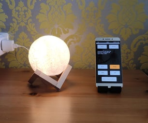 IoT Moon Lamp
