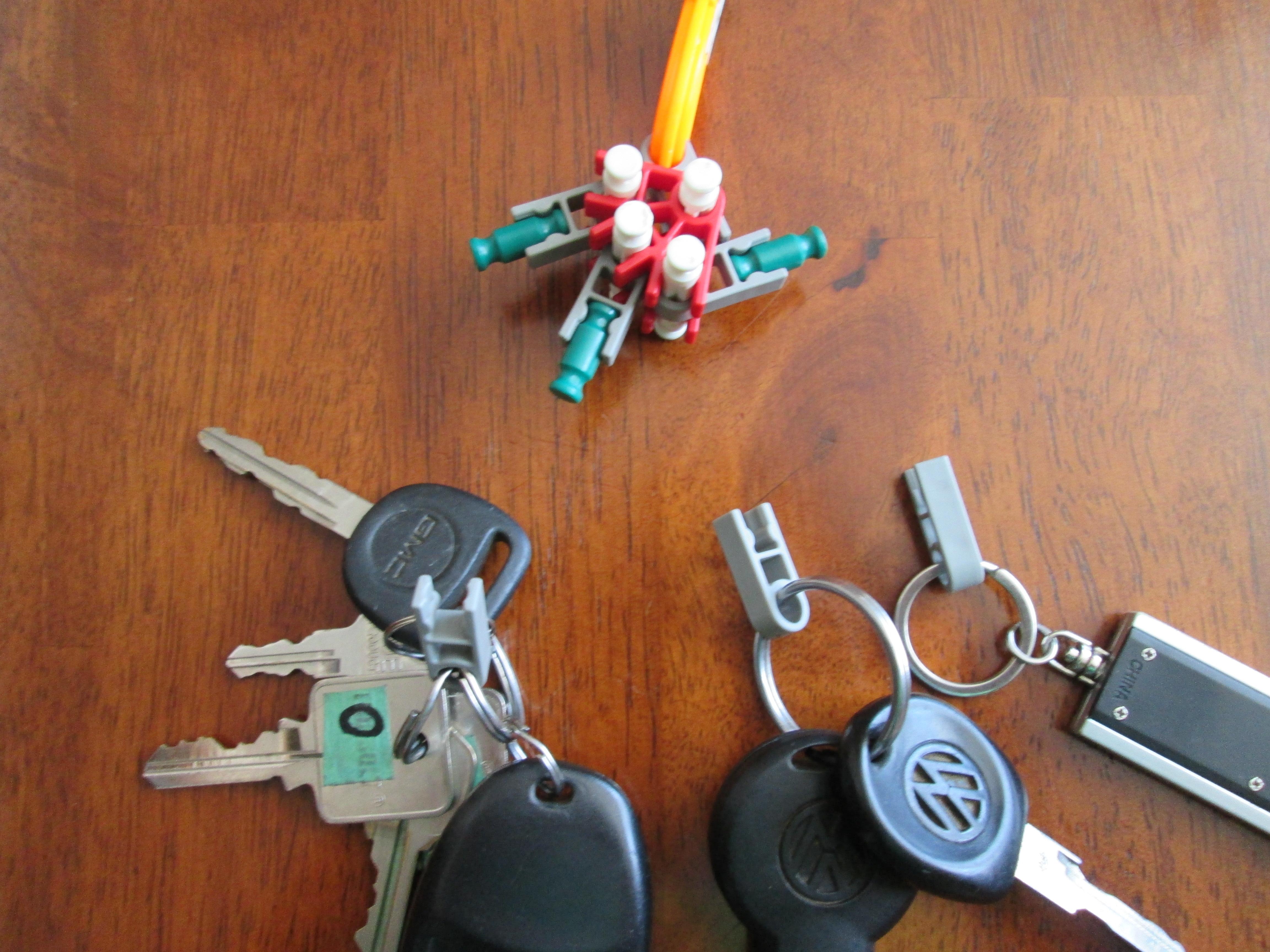 knex key chain
