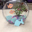 Make a 'Coworker Recognition Fishbowl' using a Cricut Expression
