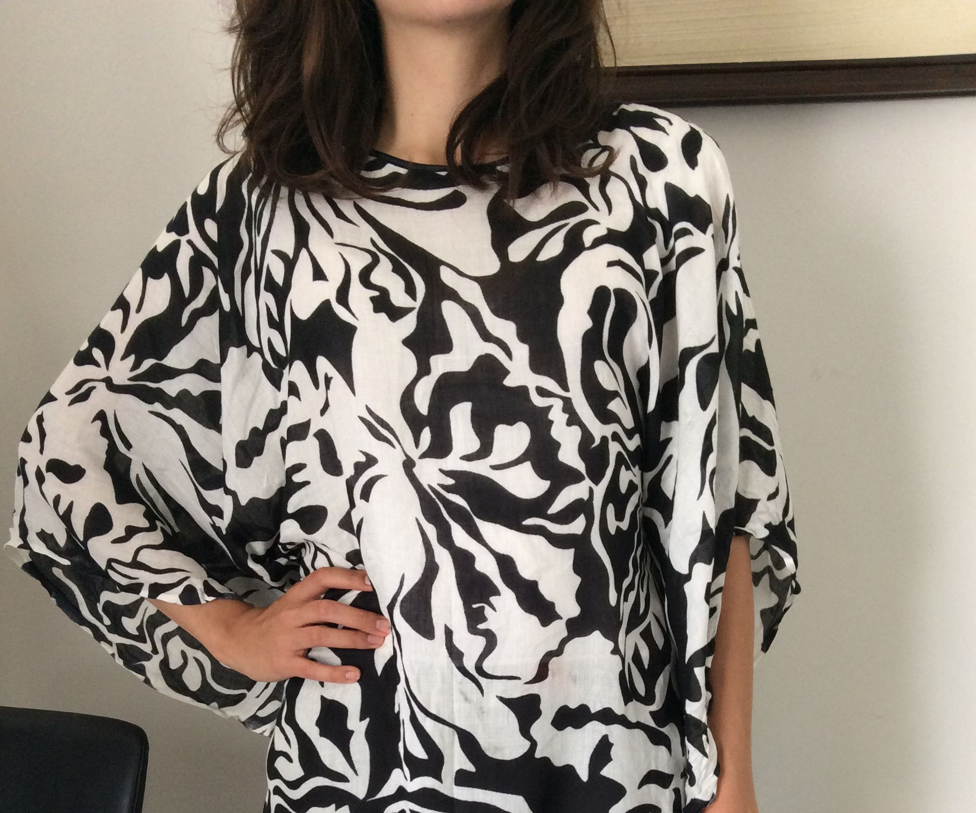Beach Cover Up to Loose Blouse