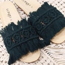 How to Make Bohemian Macrame Slippers From Scratch