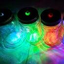 LED Jar as Photo Frame