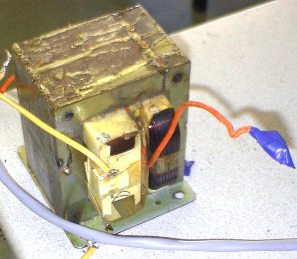 Microwave Transformer fun