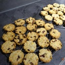 Cookies With Amaranth, Cornflakes Spelt and Sultana