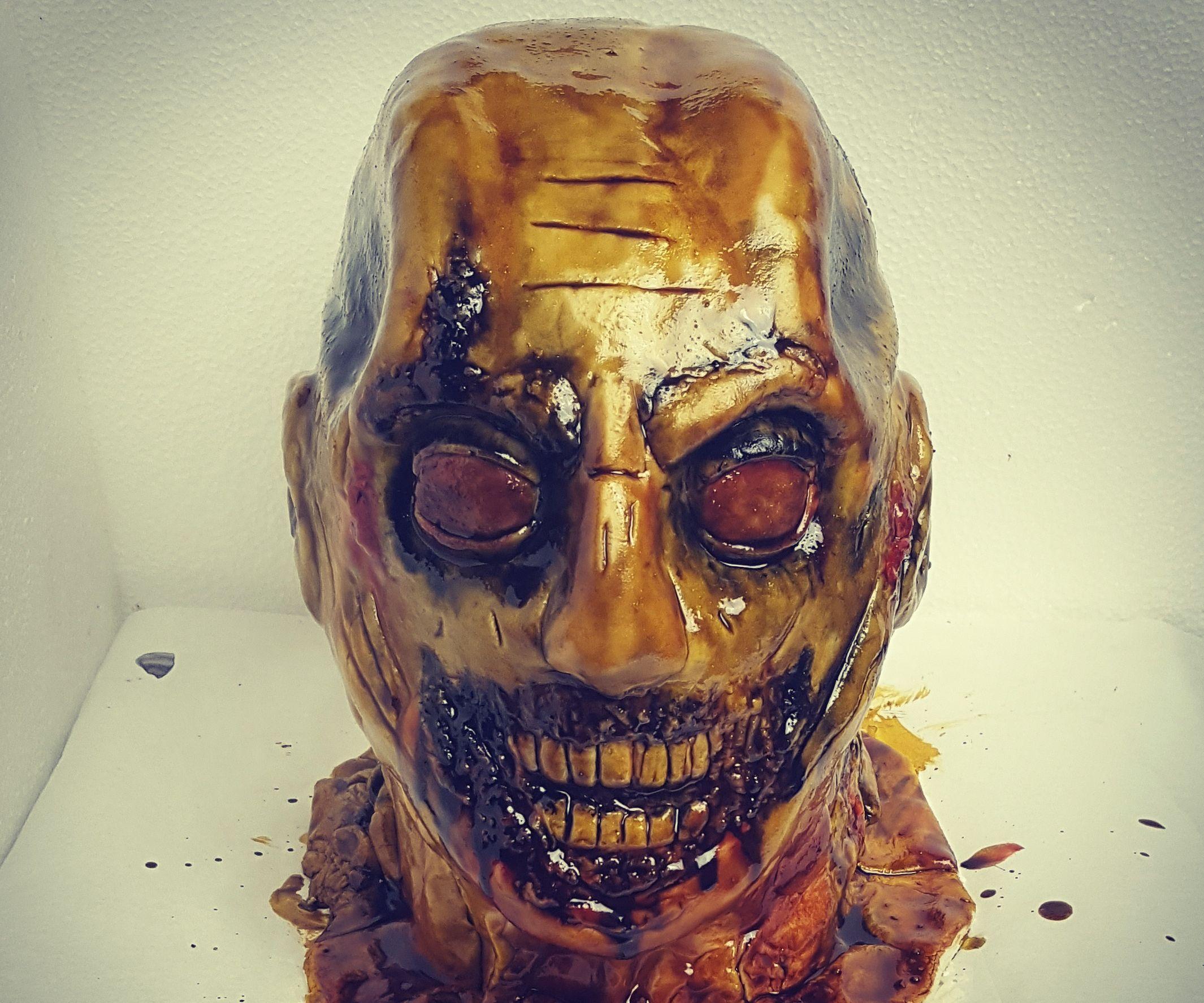 Chocolate Zombie Cake