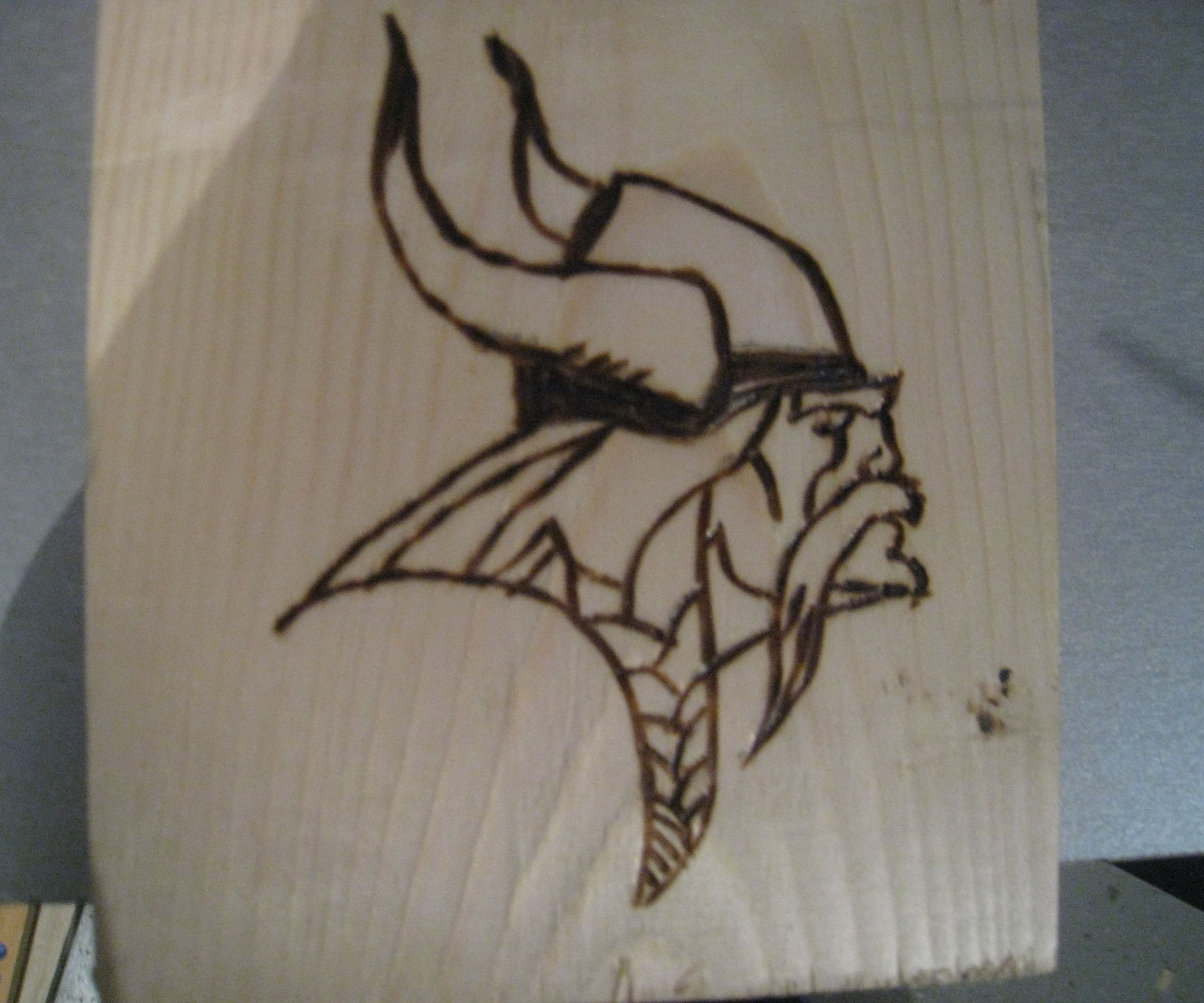 Wood Burning (Pyrography) with Soldering Iron